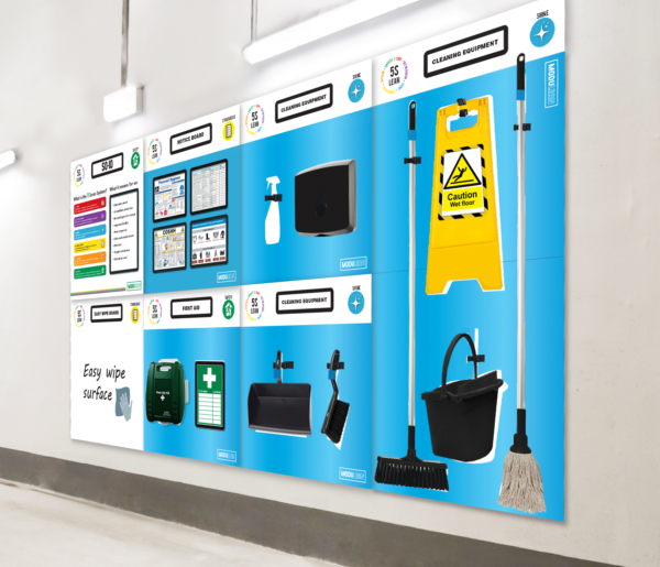 Modulean cleaning station